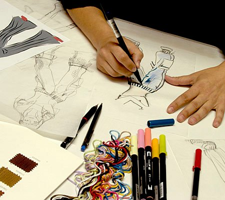 Fashion Designer Working Environment And Some Popular Asian Fashion Designers