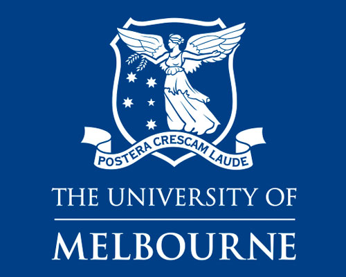 logo university of melbourne di australia sydney